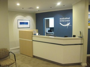 Australind Dental reception