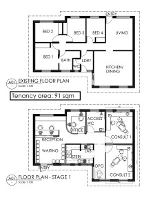 Marri Gum Dental floor plan