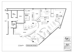 Claremont Orthodontics Floor Plan