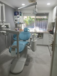 Here we turned a lab into a new hygienist room - clear here to find out where we put the lab...!